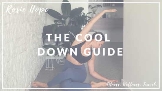 "Get your FREE ""Ultimate Cool Down Guide"" e-book"
