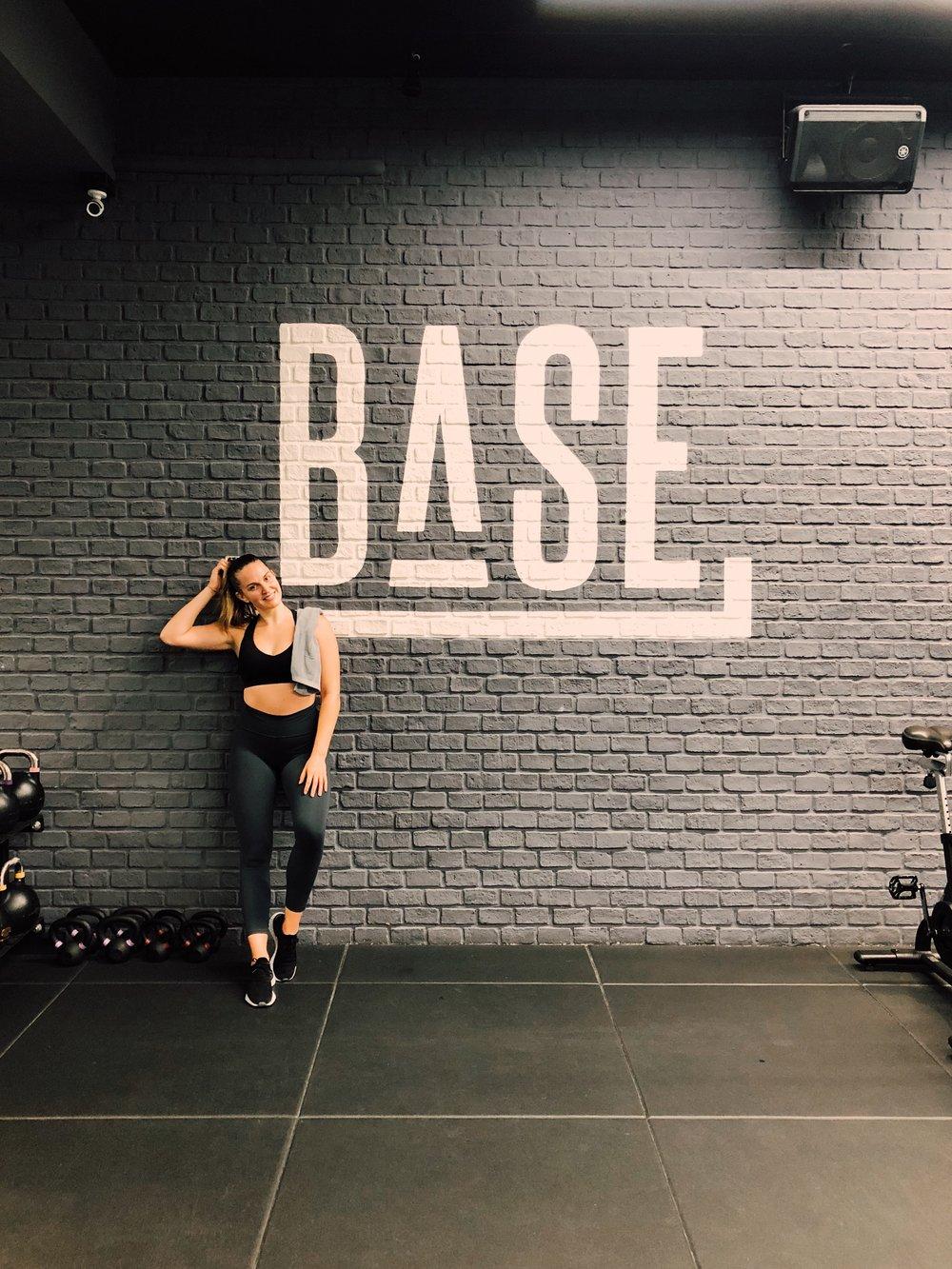 Post-sweat at BASE Bangkok.