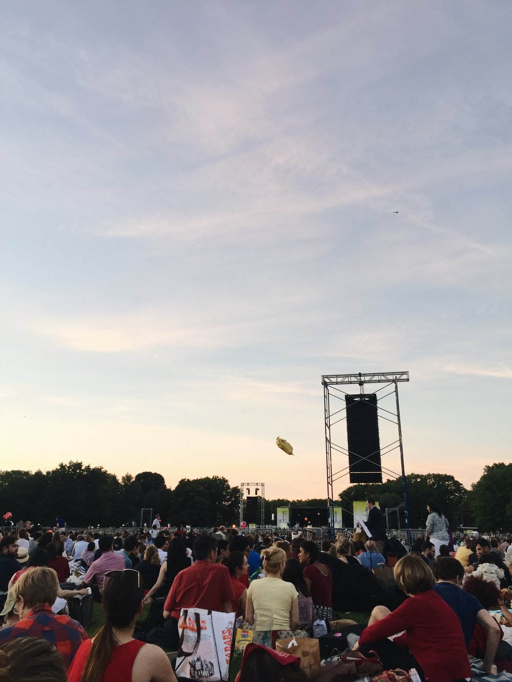 A free New York Philharmonic Orchestra concert in Central Park