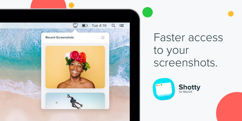 Jacob Ruiz Design introduces Shotty: Faster access to your screenshots on Mac.