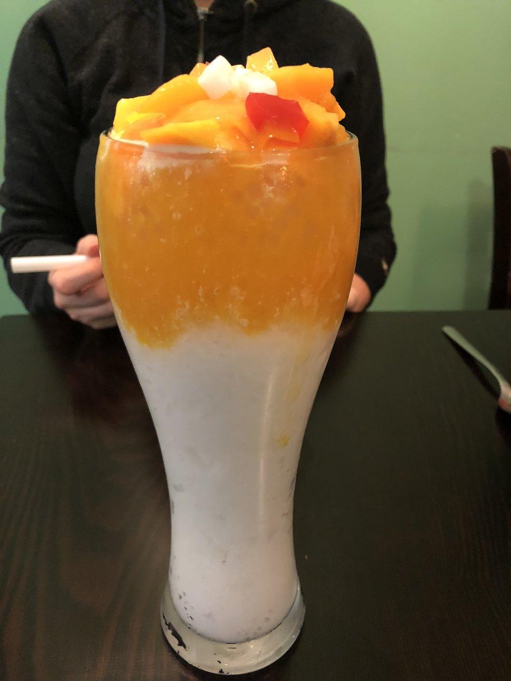 Mango sago icy