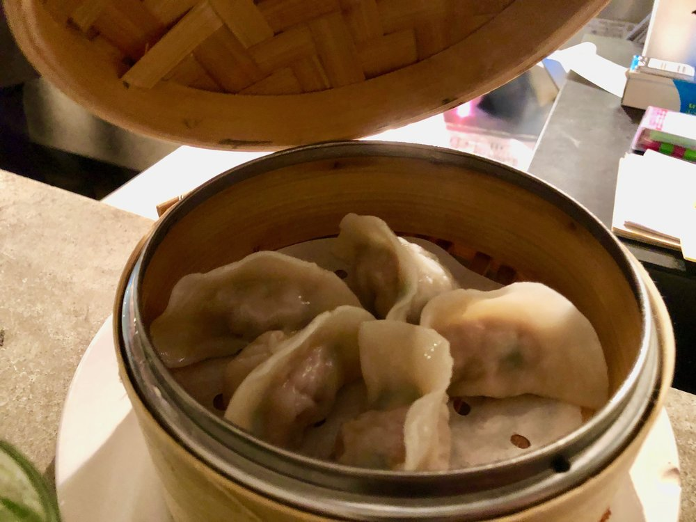 I love dumplings - pork and chive - Probably your fav