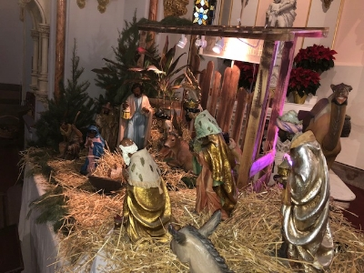 The Our Lady of Victory worship site Creche 2017