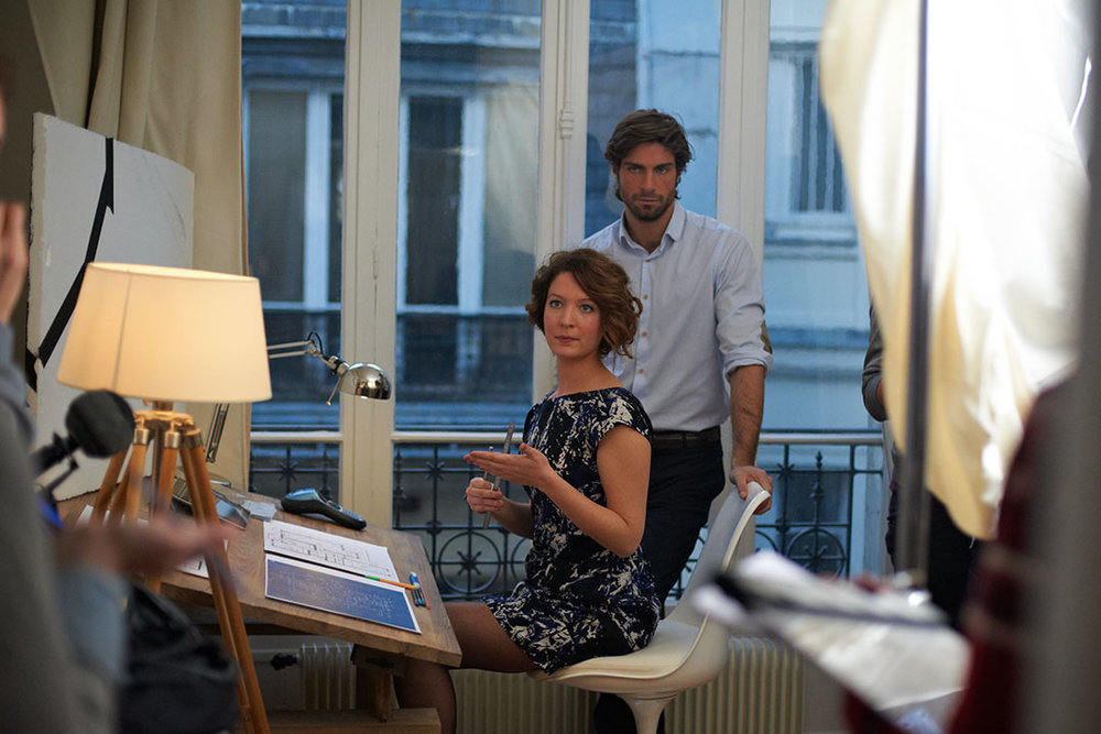 Tournage Jeux de grands, réalisé par Céline Gaudry Production  Great Pictures Productions  2014