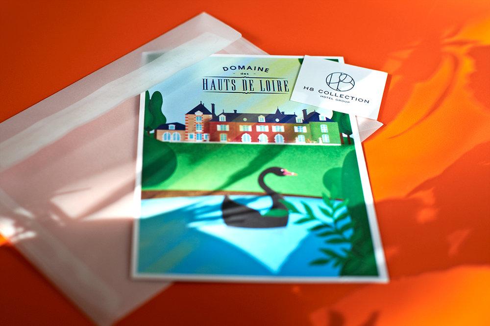 Montréal 2017  Illustrations réalisées par  Fabio Boisseau  pour une série de cartes postales représentant les hôtels du  Groupe H8 Collection .