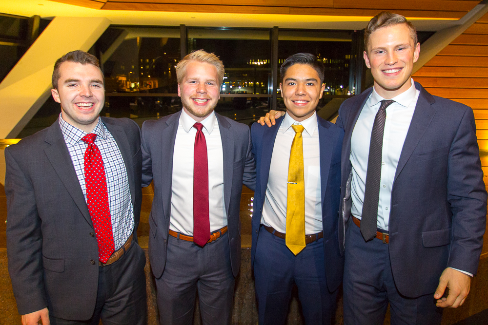 The founders and second year leads. From left to right: Ryan Quinlivan, Chad Grossman, Rob Balderrama, Ross Overline.