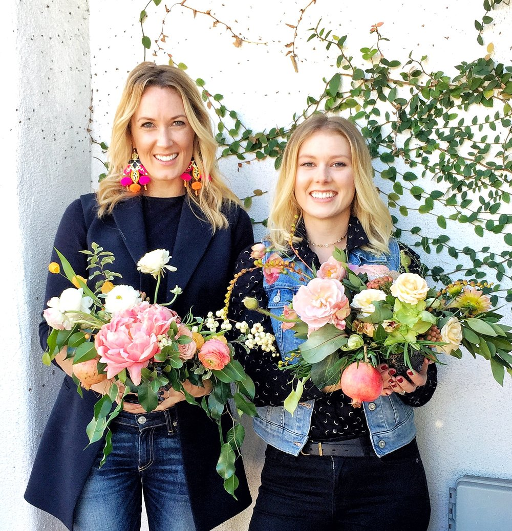 Best part was meeting new friends, like Nicole Lourie with    The Bloemist    based in LA.    Wait till we share the styled shoot we collaborated on!  Insanity.