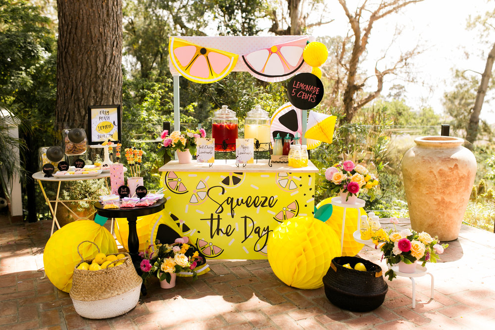 Lemonade Stand Kids Birthday Party