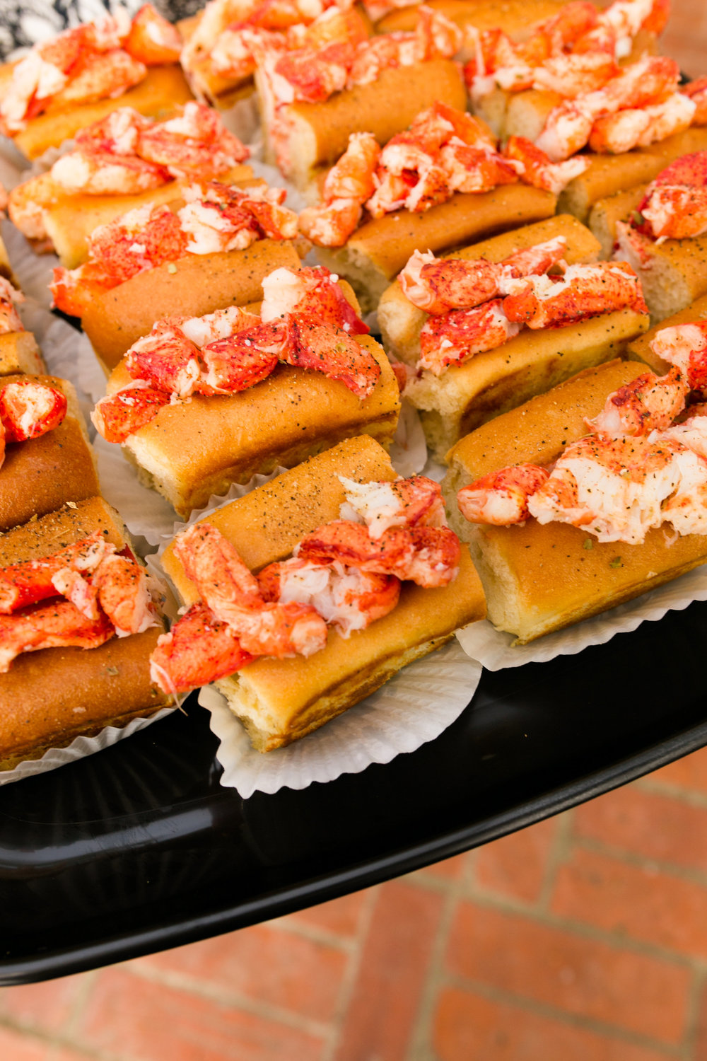 Lemonade Birthday Party Food - Lobster Rolls