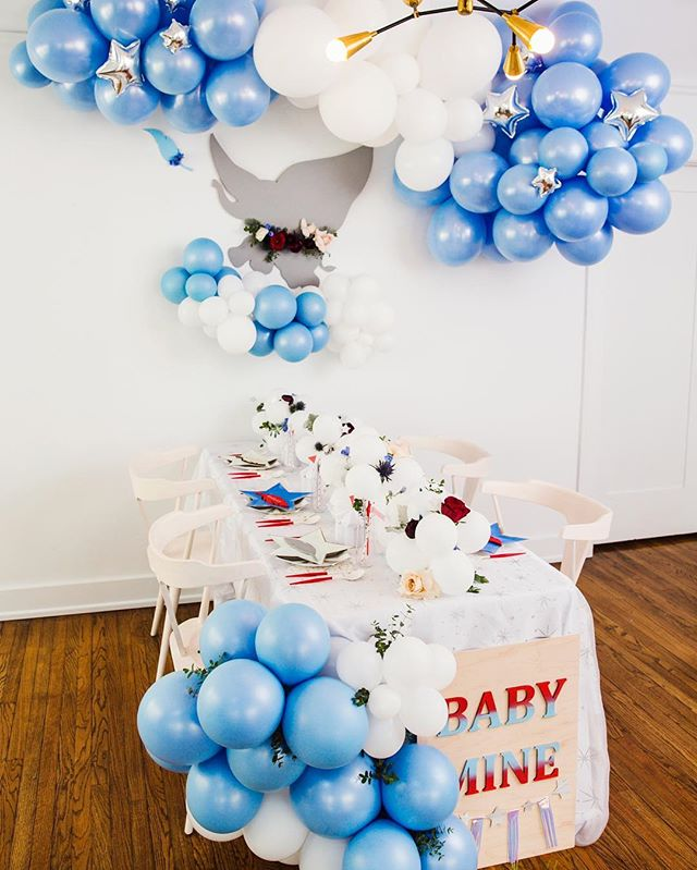Easter is for the birds, elephants are the new bunny...okay well maybe not.  But how CUTE is he!!!! More from our Live Action Dumbo baby shower for a very special client.  Did you guys see the movie? How bad did you cry 😢🐘🎪 . Planning | @partycrushevents Design+Styling | @forrestandj Photography | @lovebucketphoto  Custom paper goods + laser cut + signage | @midnightconfetti  Florals | @earthbabyflowers Balloon Install |@michellerogers_styling  Desserts + Dumbo cookie cake | @sugarcrushsweets  Paper Tabletop | @bonjourfete  #dumbomovie #liveactiondumbo #dumbobabyshower #babyshowerinspo