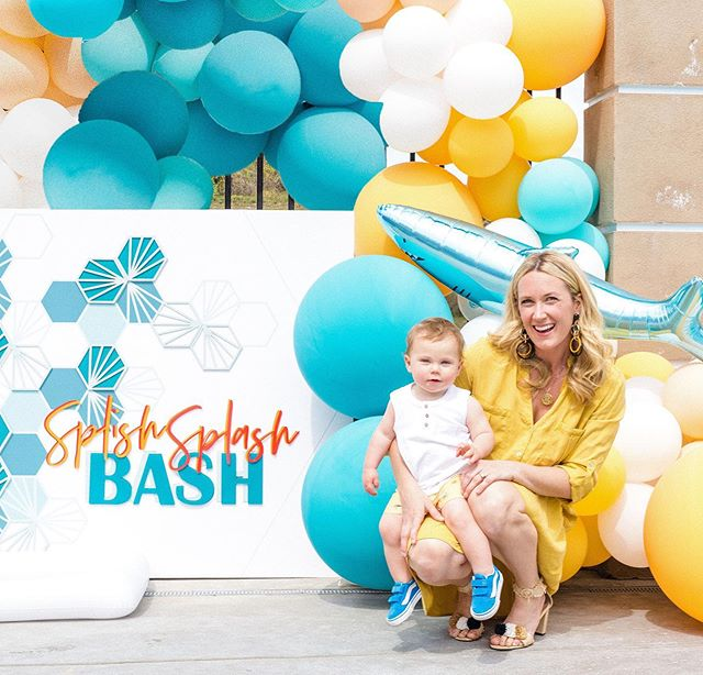 "Motherhood is a total ""Bash"" with you my babes!  Your love for the water, balls (so many balls!), dancing and getting low, plus giggling at just about everything melts my heart on the daily.  Love you, my sweet Sebastian, and I'm a very proud mama on special days like these.  Happy Mother's Day friends!  Photo 