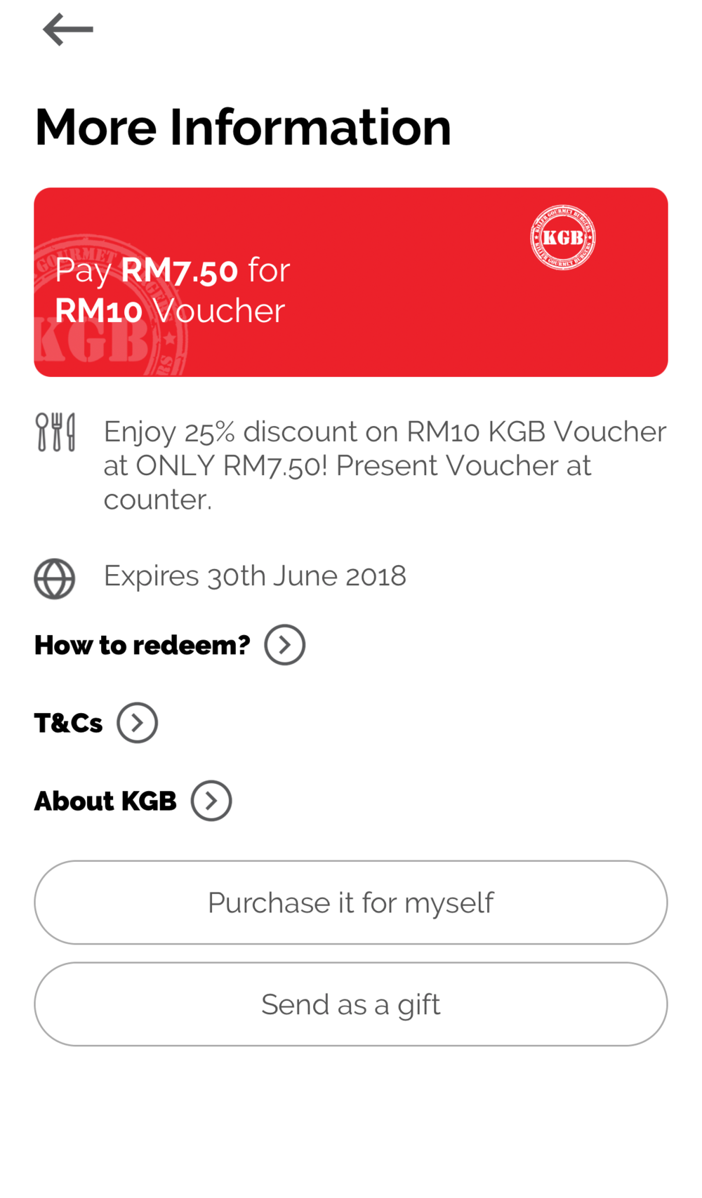 Example of voucher