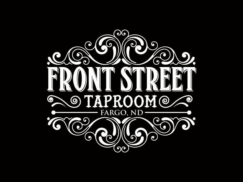 Front Street Logo (black background).png