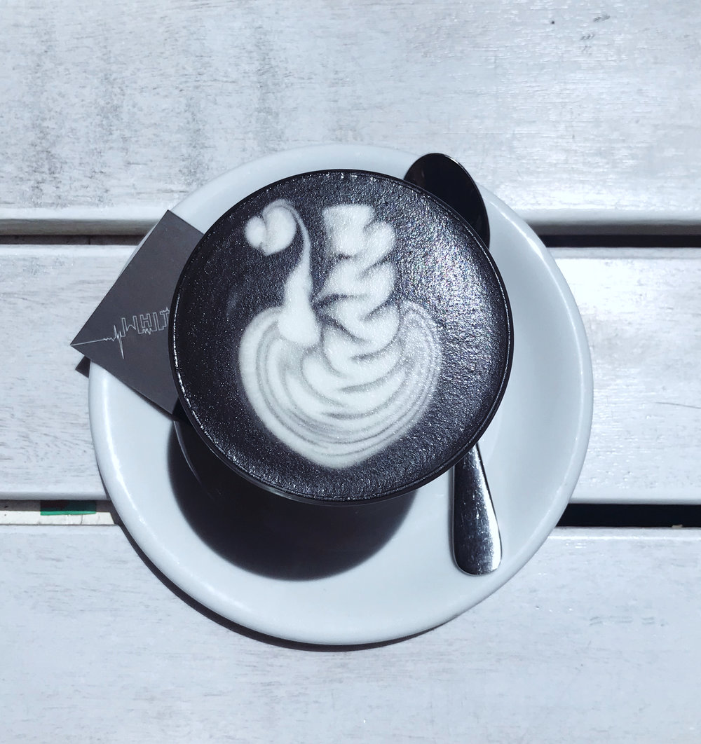Black Latte from White Mojo