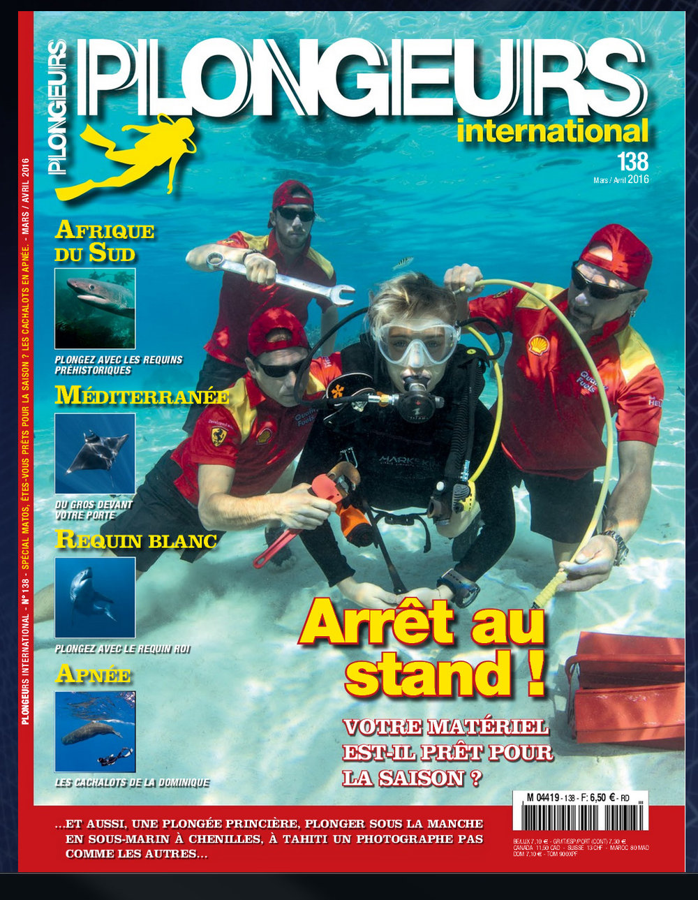 Plongeurs International April 2016