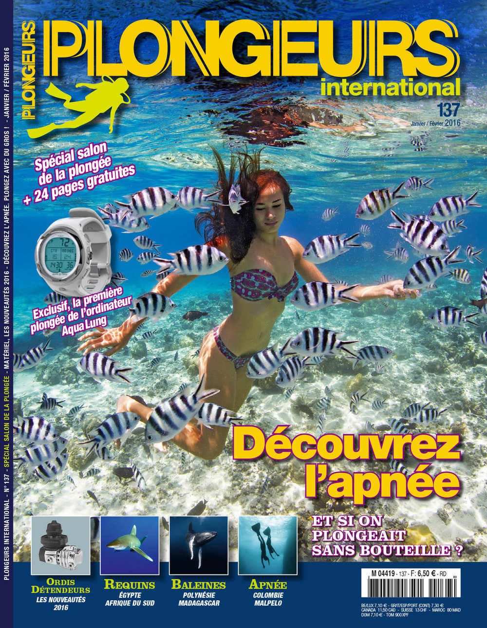 Plongeurs International Jan 2016