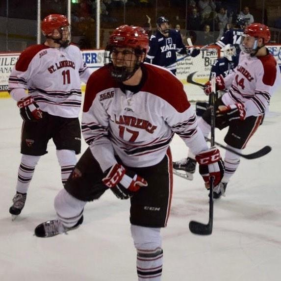That Friday-St.Lawrence vs Clarkson-Legends of Appleton feeling... #sluhockey #legendsofappleton
