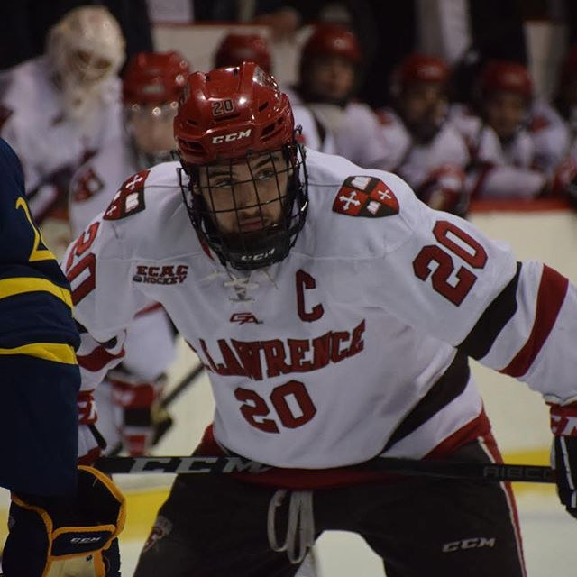 Happy 25th birthday to former Saints captain Joe Sullivan '18! #sluhockey #sluhockeyalumni