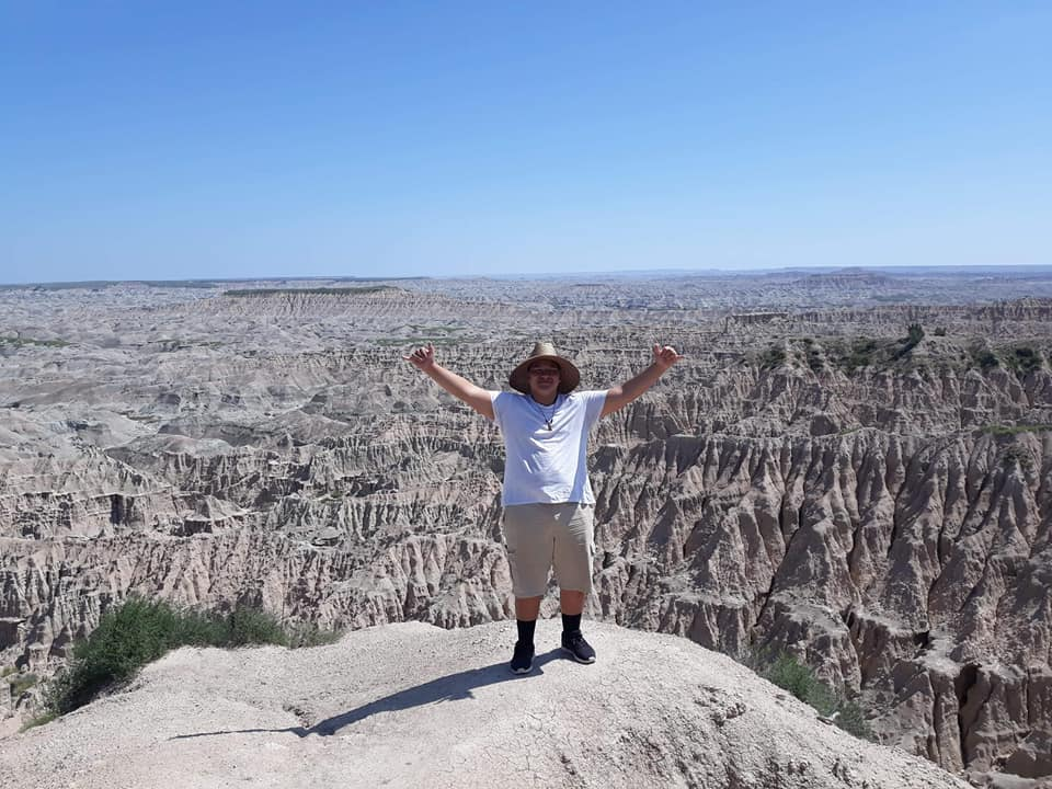 Sione in the Badlands, Pine Ridge Reservation, Sth Dakota