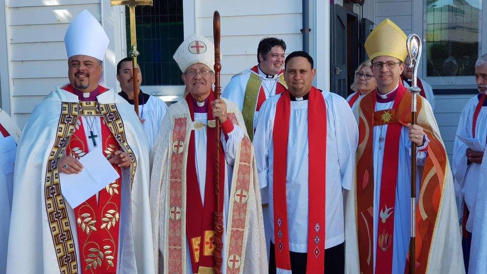 Rev Te Hira Paenga ordination, Hiona St Stephen's, Opotiki