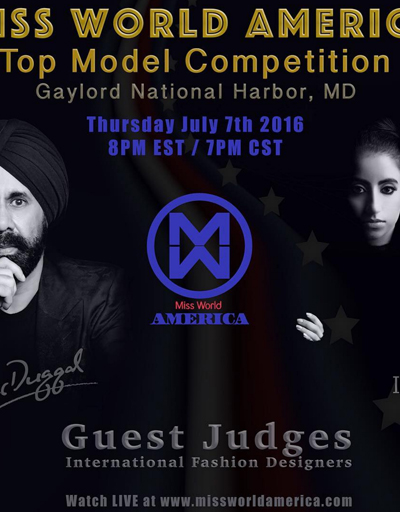 MISS WORLD AMERICA :: GUEST JUDGES