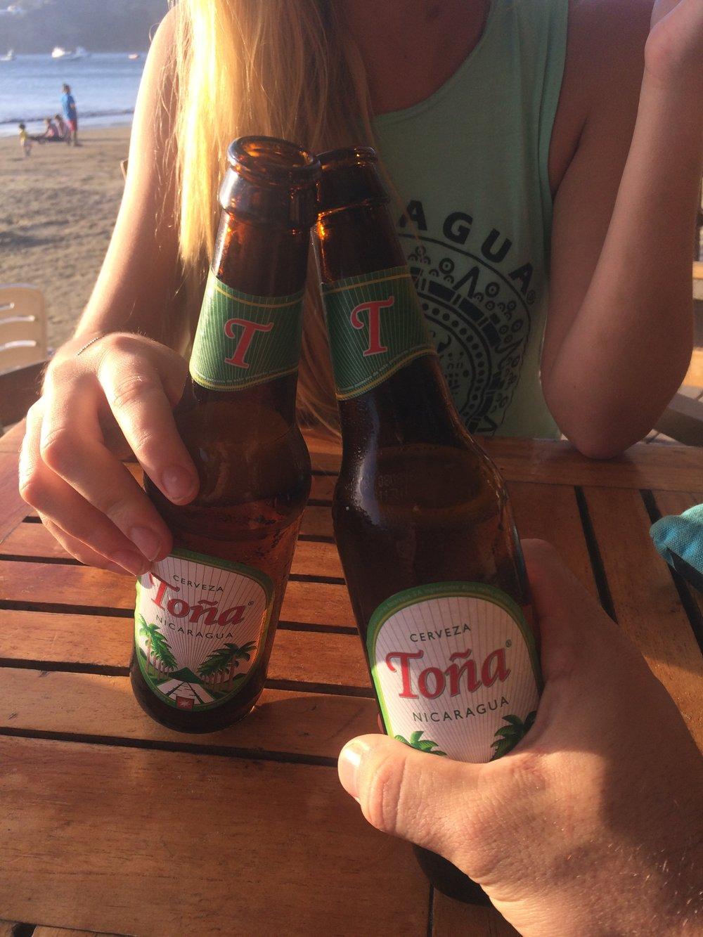 Toña Beer in Nicaragua