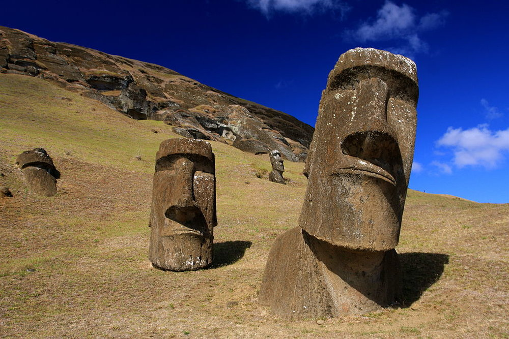 Easter Island, Chile - Author: TravellingOtter License: CC BY-SA 2.0