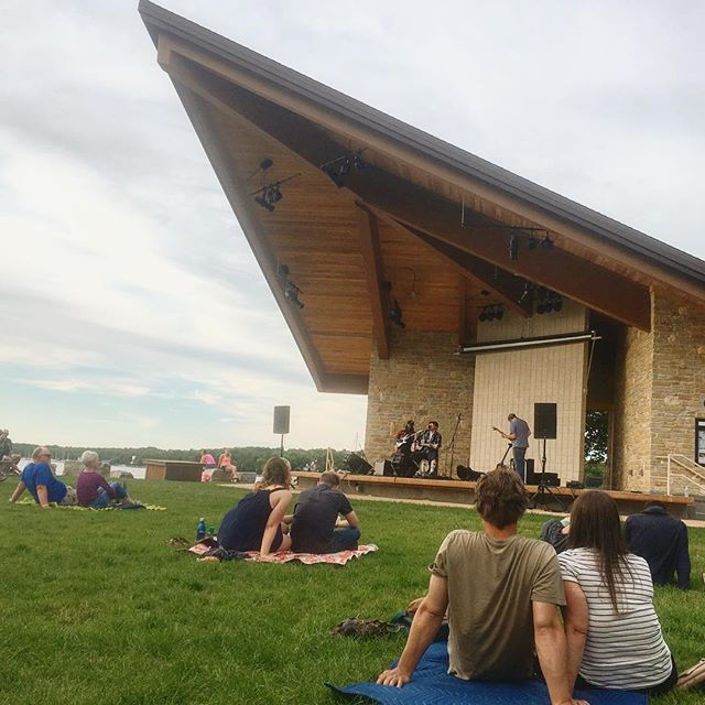 Stumbled upon a little music in the park 🎶 . . . . . #abmtravelbug #abmlifeiscolorful #cool #concert #doorcounty #darlingweekend #exploretheworld #fun #free #green #goexplore #helloworld #igers #igtravel #instagood #livethelittlethings #livemusic #nothingisordinary #outdoors #photooftoday #roamtheplanet #summer #travel #travelgram #travelblogger #wisconsin