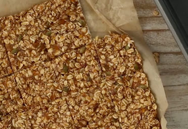 Almond Butter Apricot Granola Bars