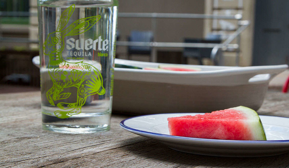 Tequila-Spiked Watermelon