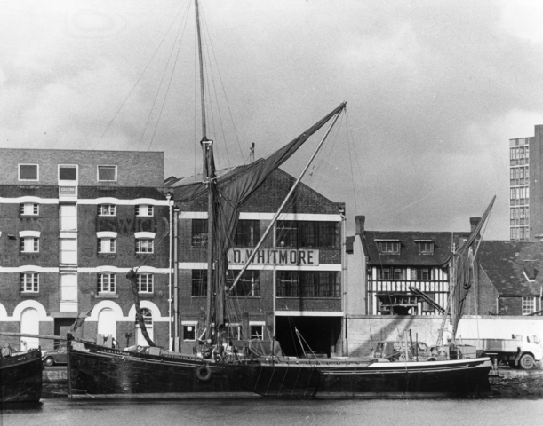 ipswich maritime, history of suffolk, waterfront