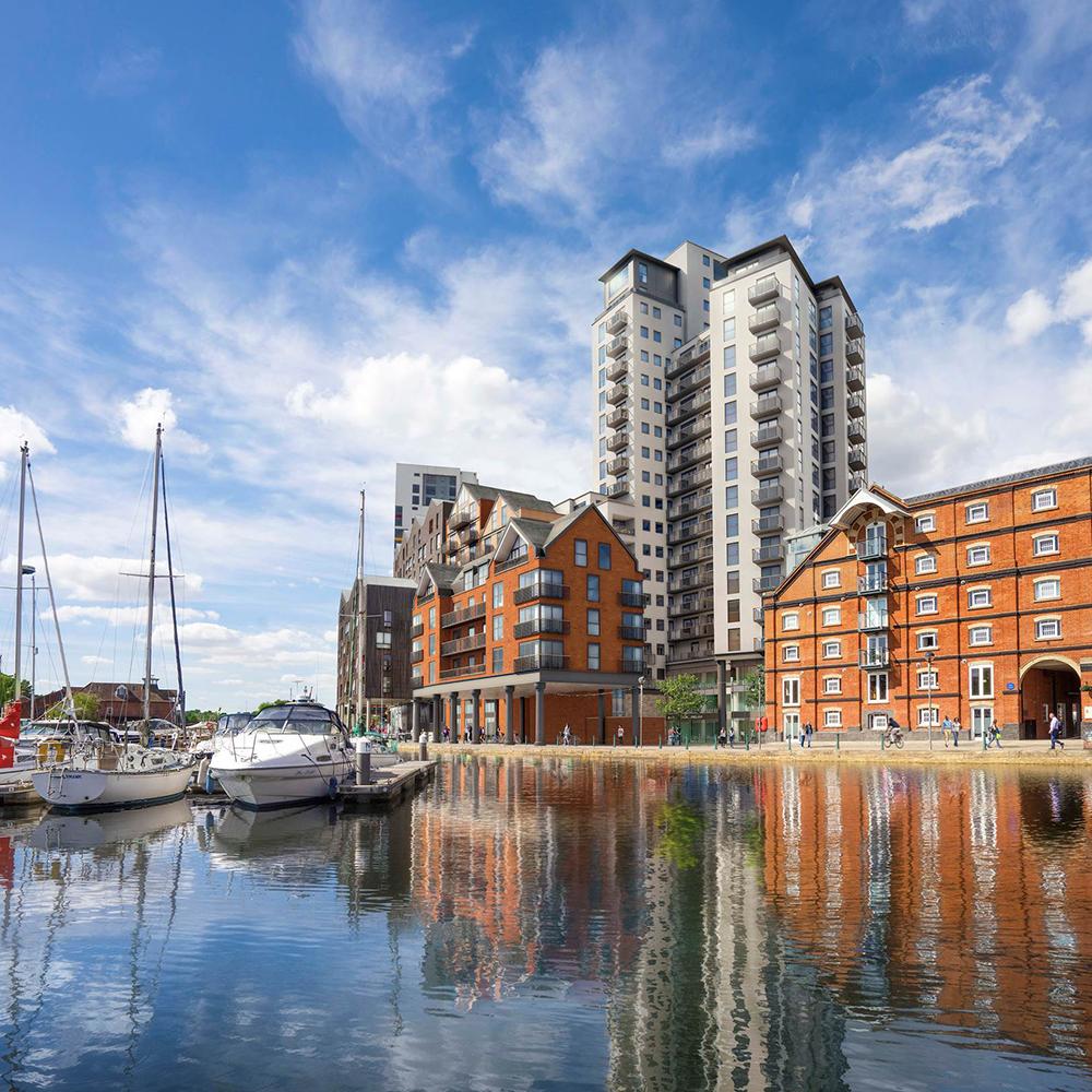 ipswich, waterfront, winerack, property, development, new housing