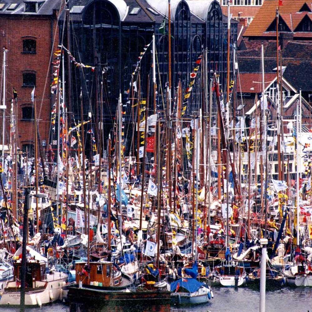 sail ipswich 97, waterfront, maritime trust