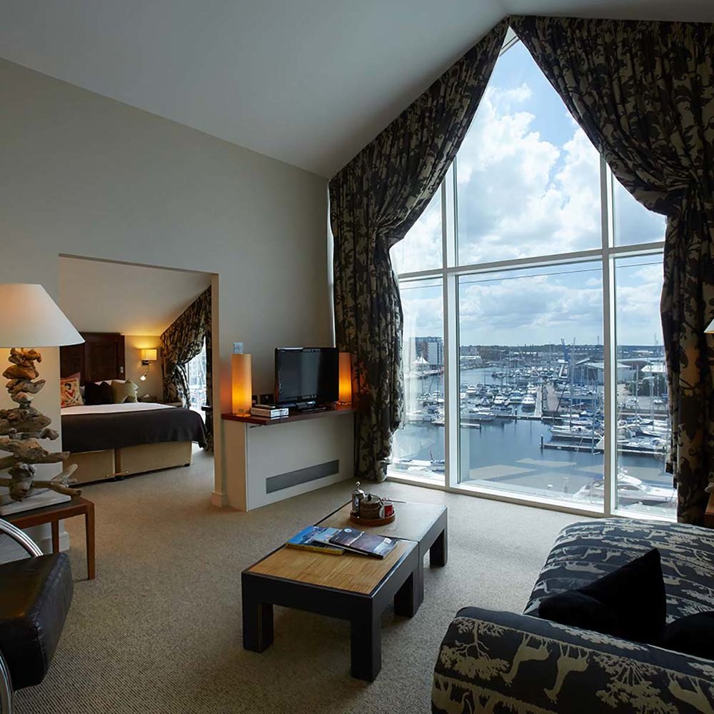 salthouse harbour hotel, penthouse, room view