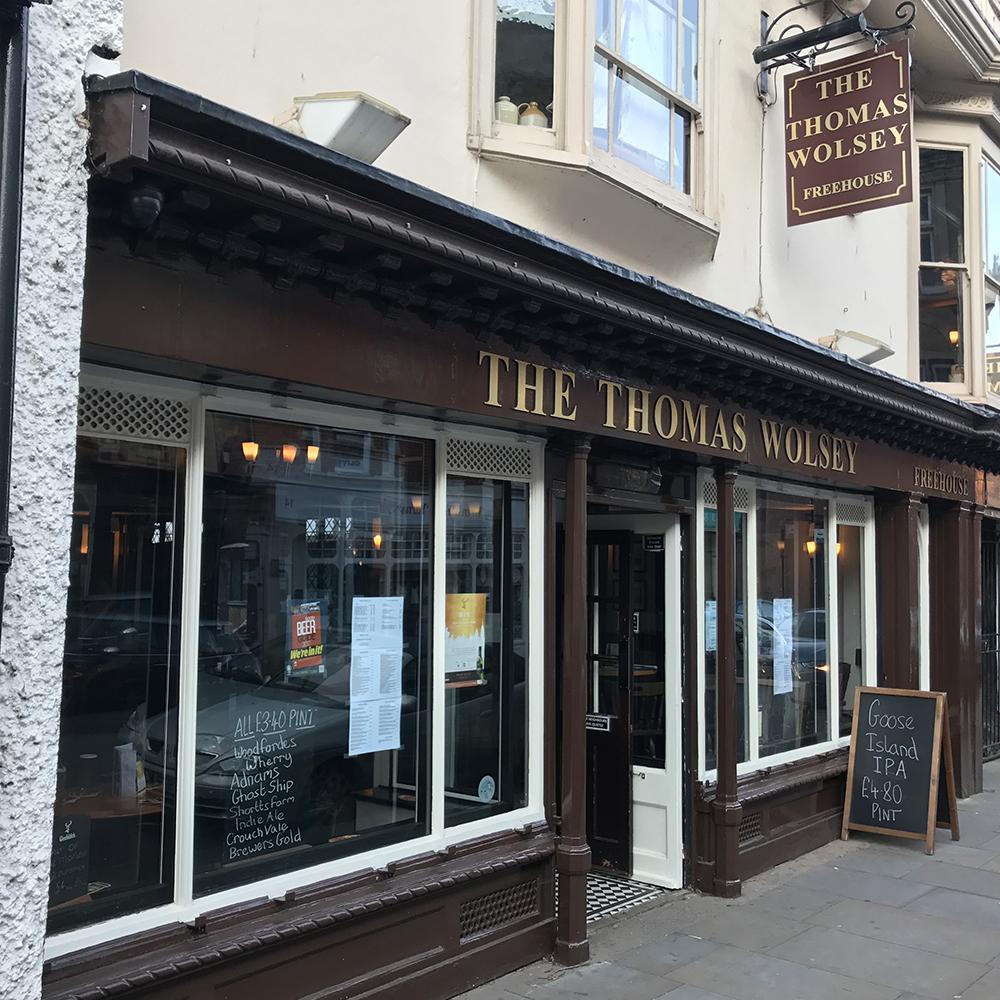 thomas wolsey, ipswich, mystery shop