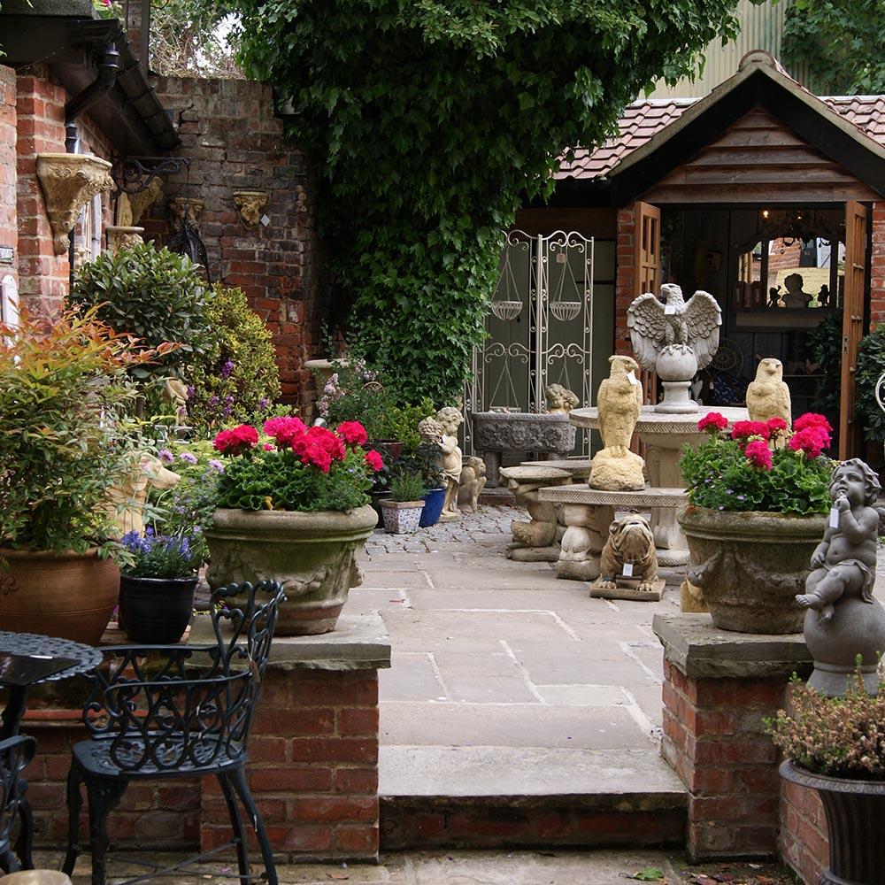 the saints, ipswich, garden