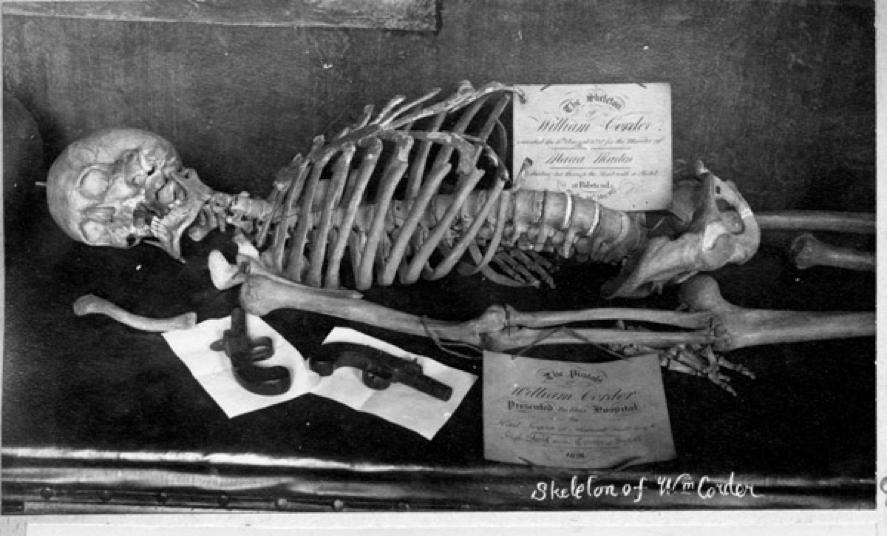 skeleton, william corder