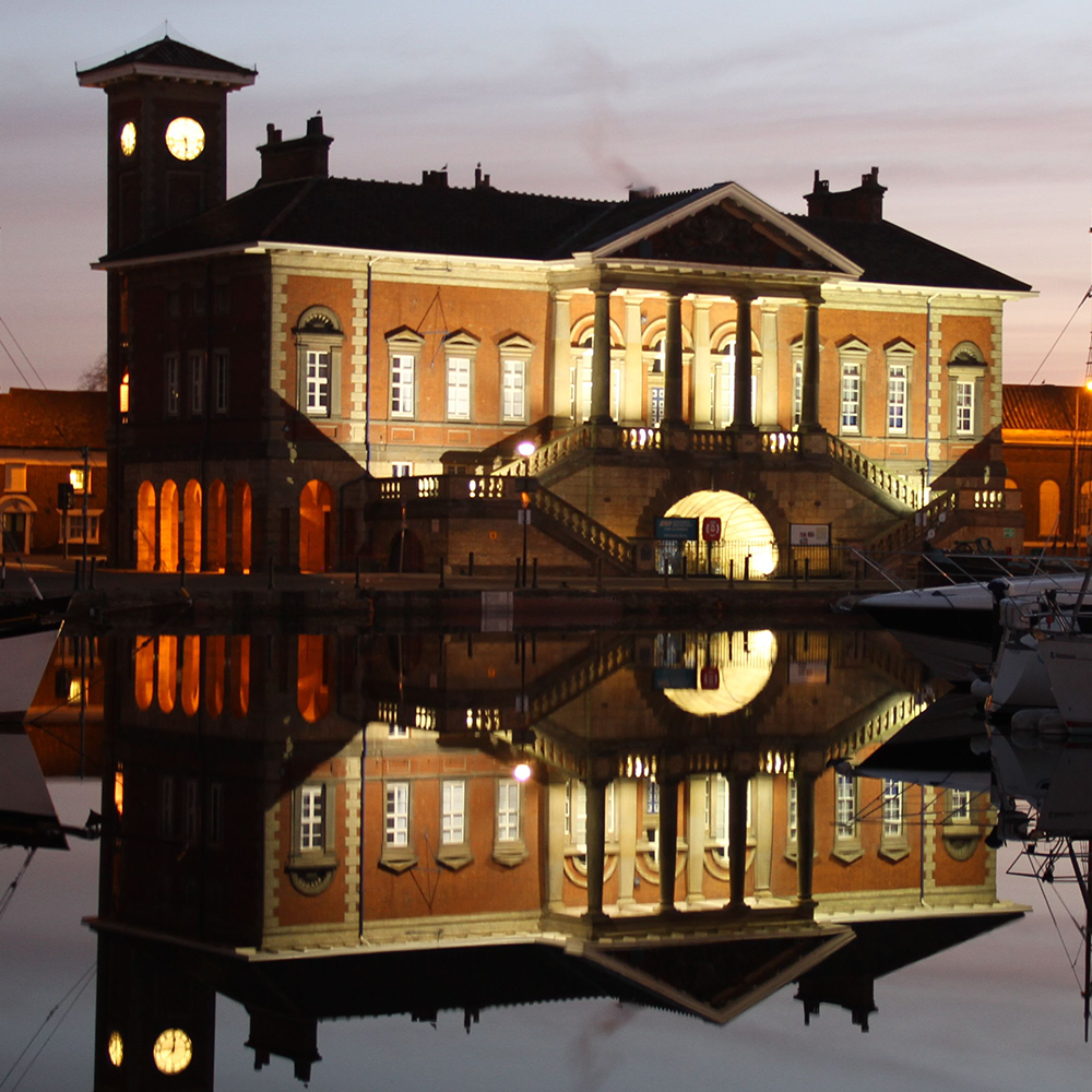 customs house, ipswich waterfront