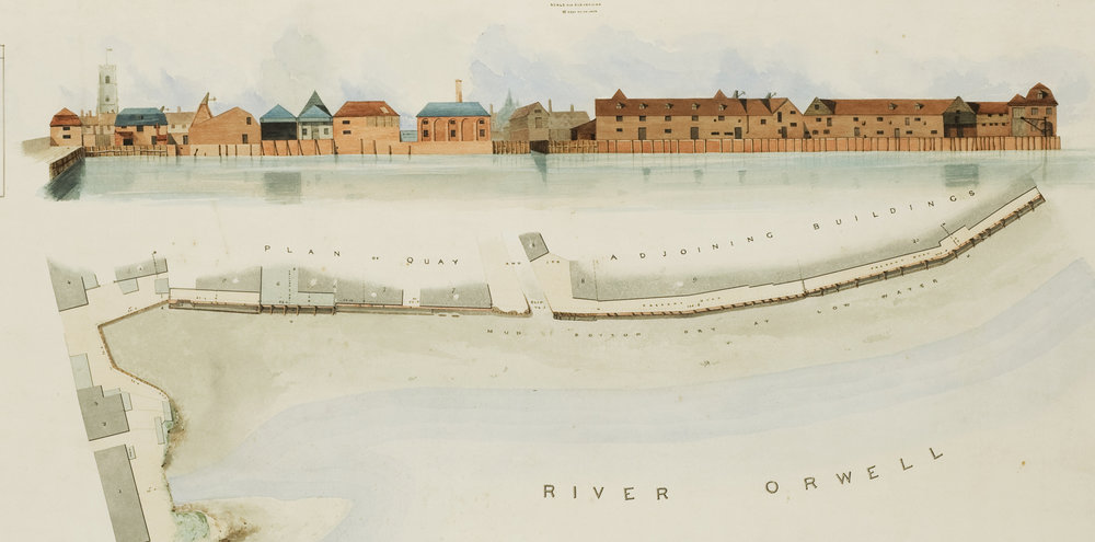 Stoke Bridge Section of Edward Caley's 1837 Ipswich Waterfront IMT Image Archive.JPG