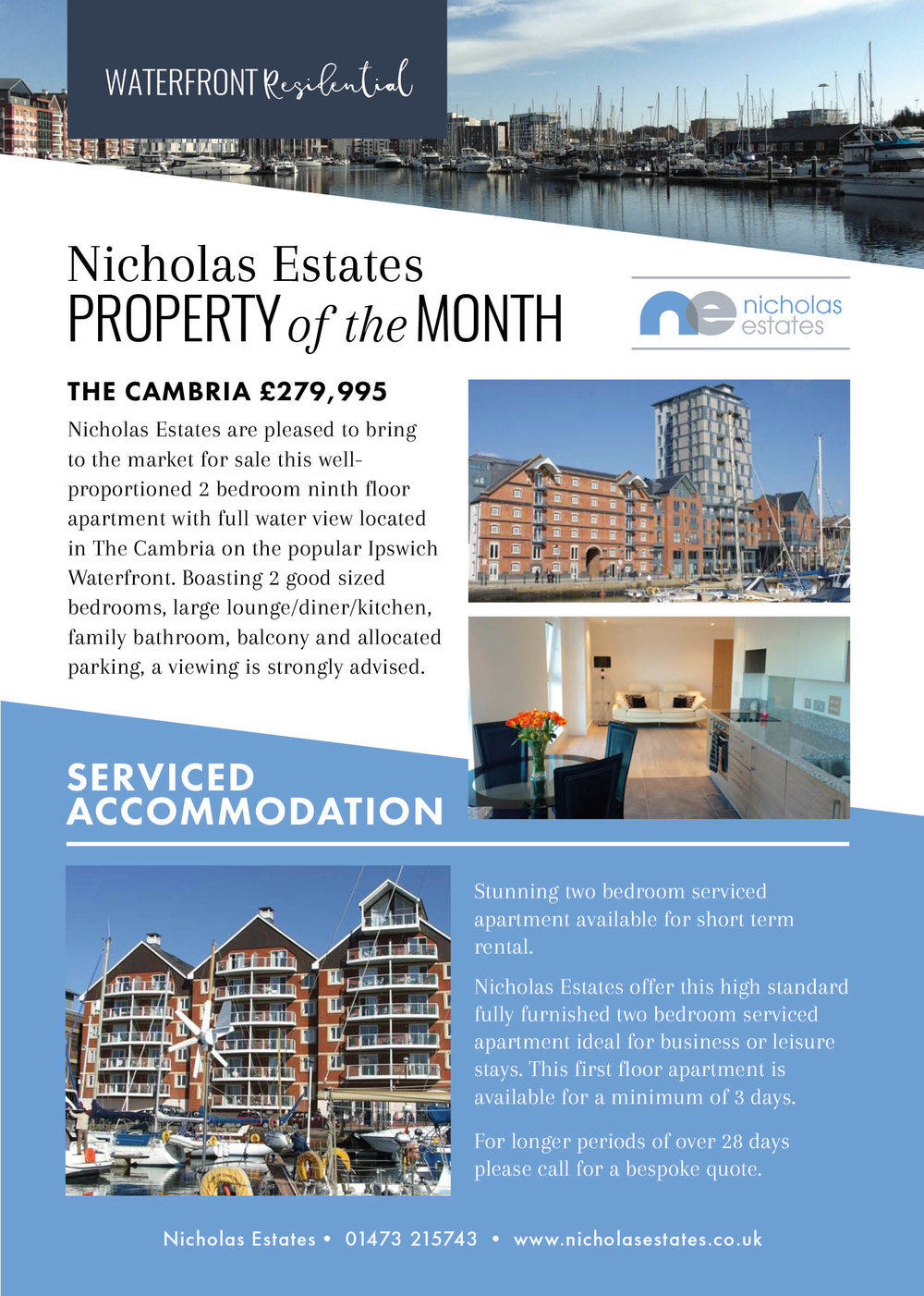 nicholas estates, property of the month