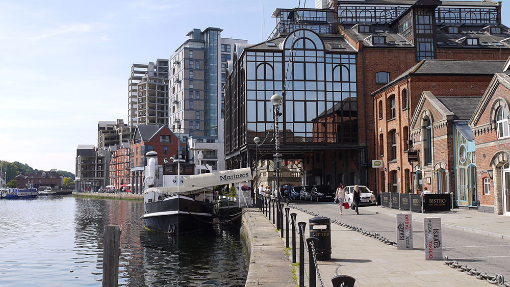 waterfront history, fa christies and son