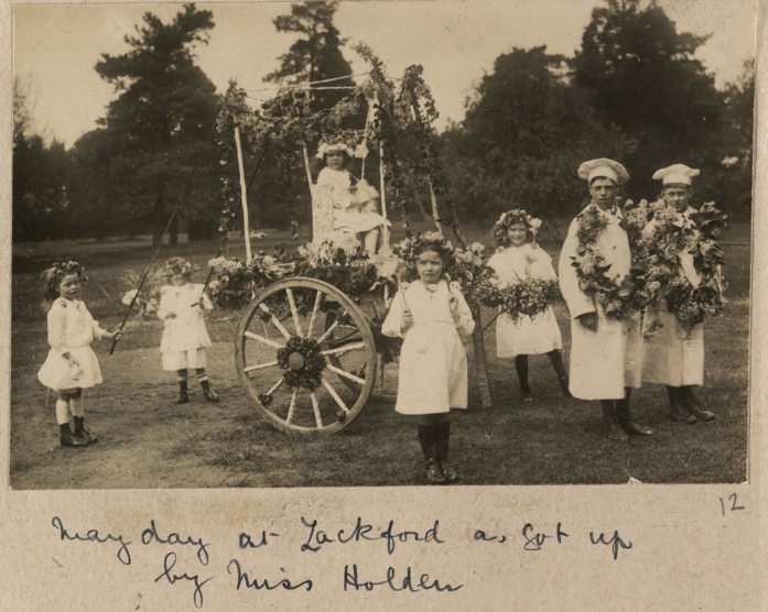 'May Day at Lackford as got up by Miss Holden' (BRO/K997/110/12)