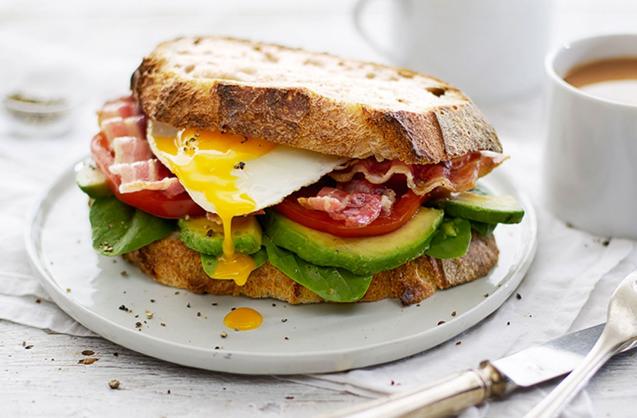 british sandwich week, breakfast bap