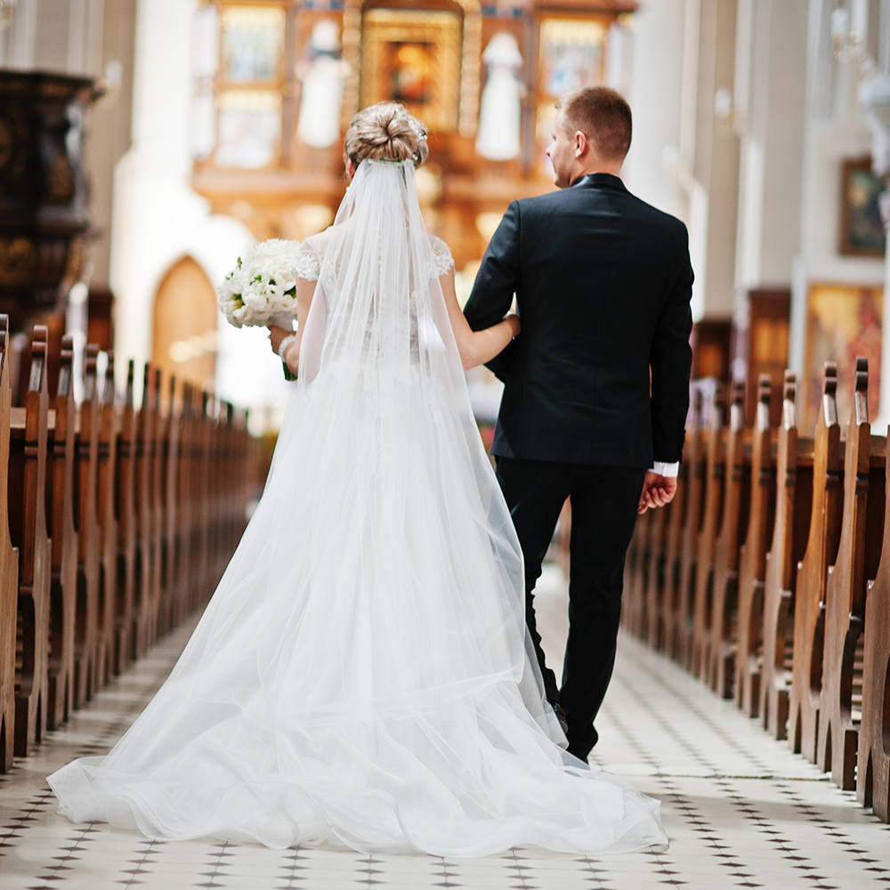 wedding, waterfront churches