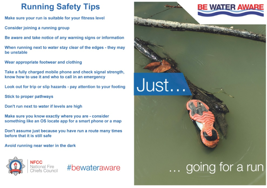 running safety tips, ipswich, suffolk