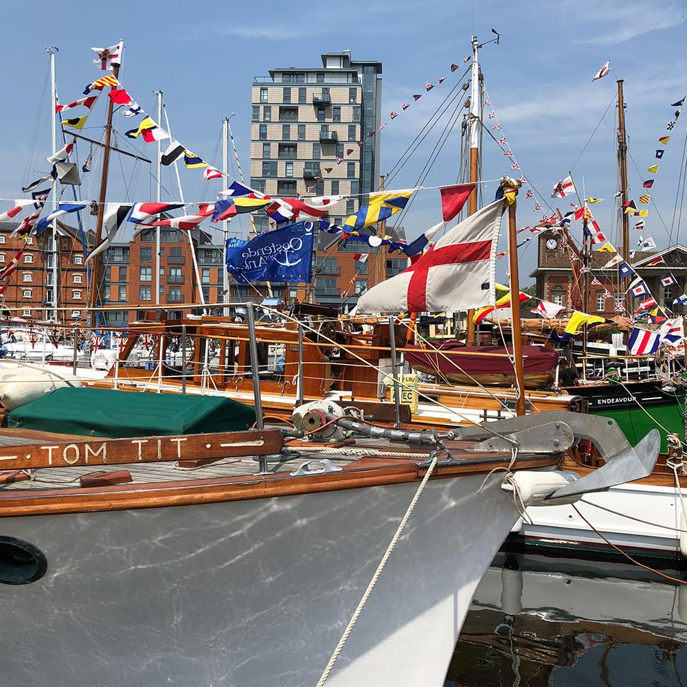 dunkirk ships, ipswich, waterfront