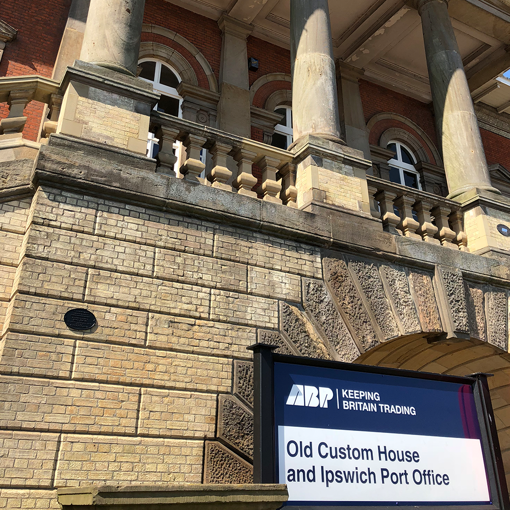 abp associated british ports, ipswich custom house