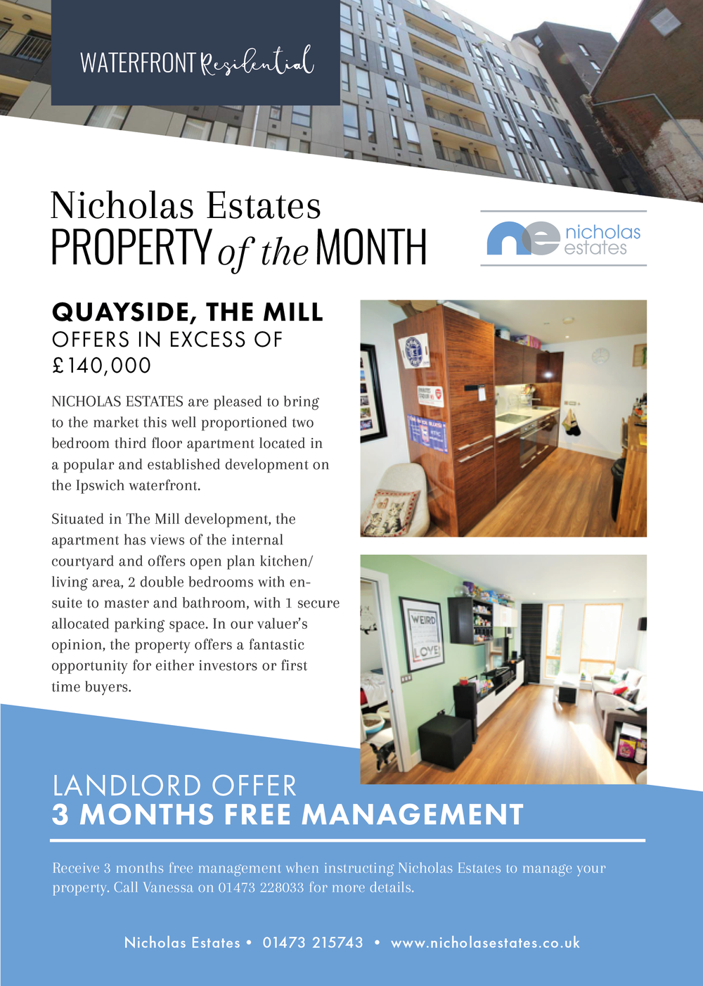 nicholas estates property of the month