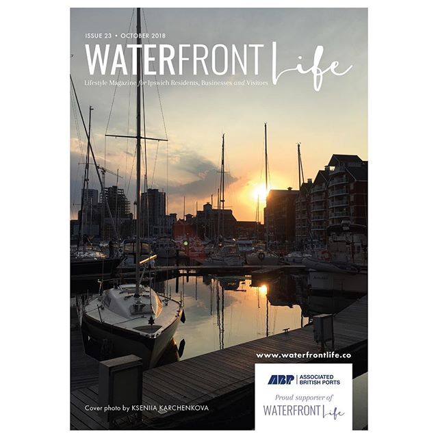 Check out our beautiful October issue cover shot by Kseniia Karchenkova! Did you know you can submit YOUR images of the Waterfront area to be featured on our front covers?! - - - Simply email your hi-res photos to media@waterfrontlife.co to enter!