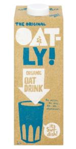Oatly organic drink